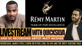Remy Martin Quicksilva Team Up for Excellence Matt McGhee