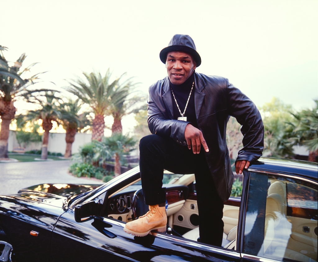 Mike Tyson With His Exotic Cars