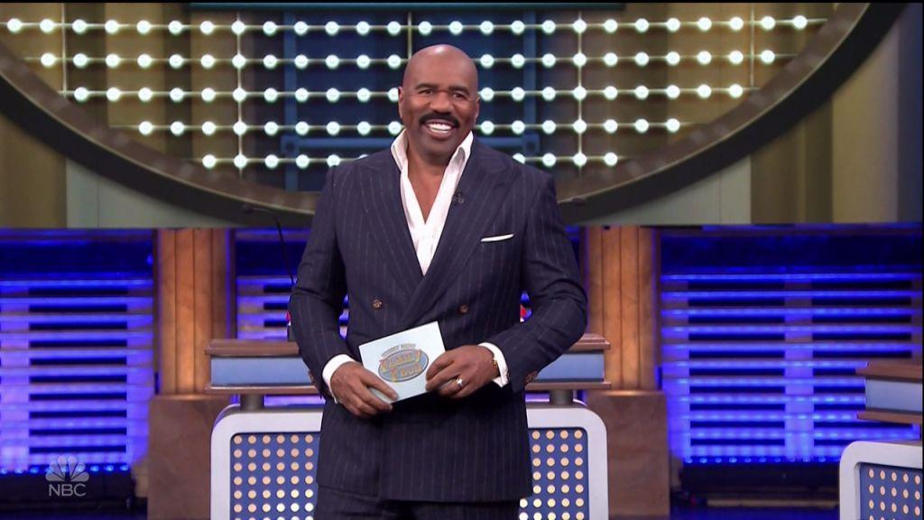 Steve Harvey during an appearance on NBC's 'The Tonight Show Starring Jimmy Fallon.'