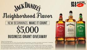 Jack Daniel's Neighborhood Flavor. New Beginnings. MAKE IT COUNT Contest WKYS