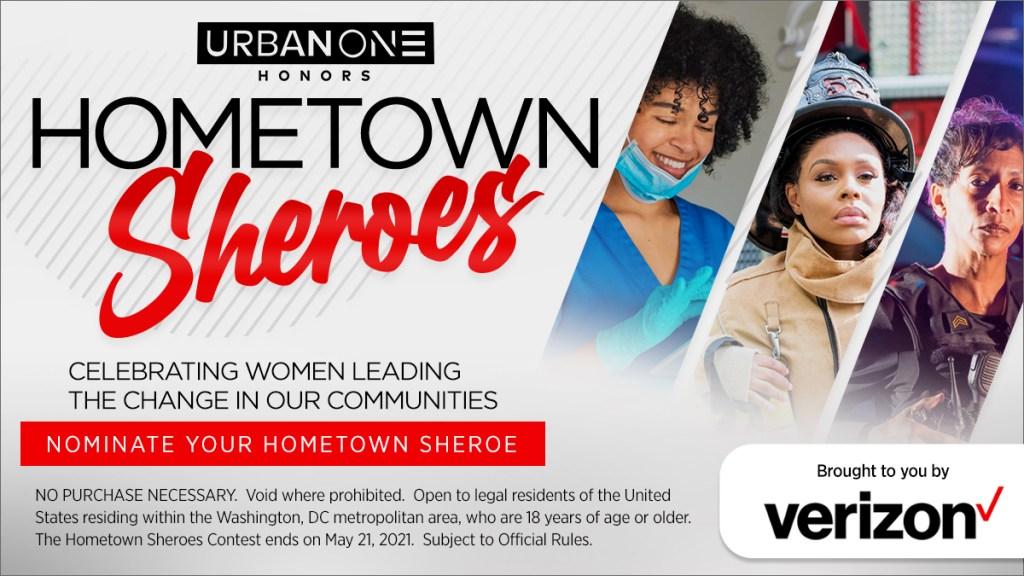Washington, DC Nominate Your Hometown Shero As We're Celebrating Women Leading Change In Our Communities!