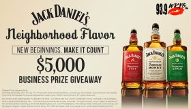 Featured Graphic - Jack Daniel's Neighborhood Flavor. New Beginnings. MAKE IT COUNT