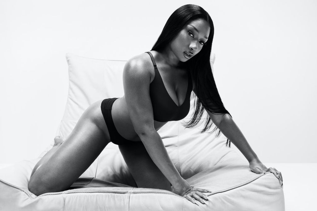 Megan Thee Stallion For Calvin Klein Spring 2021 Campaign: Blank Canvas