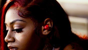 Sha'Carri Richardson x Beats Studio Pods x Kanye West