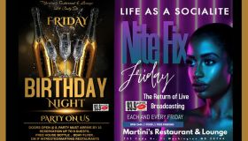 NITE FIX FRIDAY AT MARTINI'S RESTAURANT AND LOUNGE